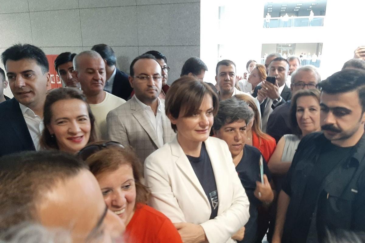 Canan Kaftancıoğlu'nun yargılandığı dava 18 Temmuz'a ertelendi