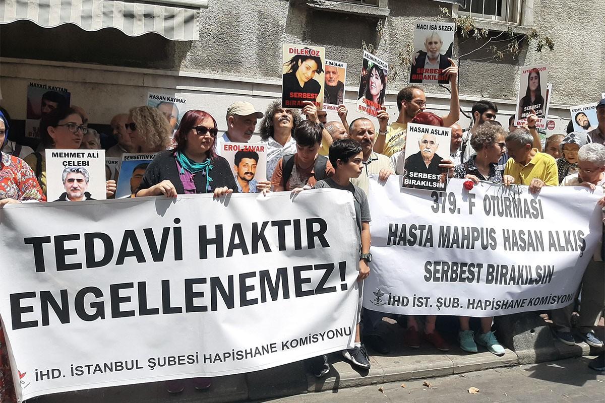 'Hasta mahpus Hasan Alkış serbest bırakılsın'