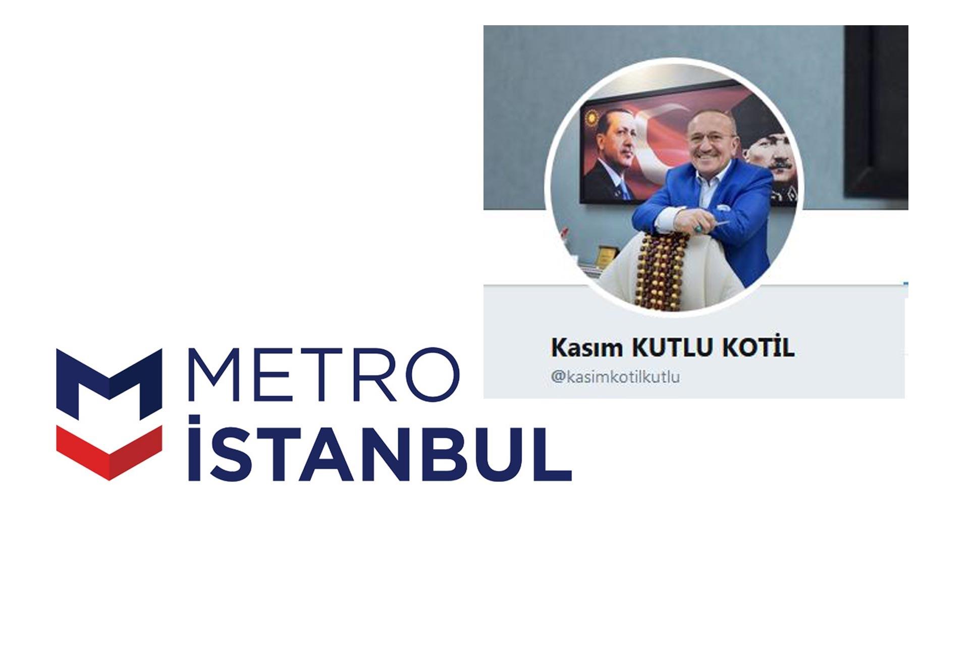 İstanbul Metro AŞ Genel Müdürü Kasım Kutlu istifa etti