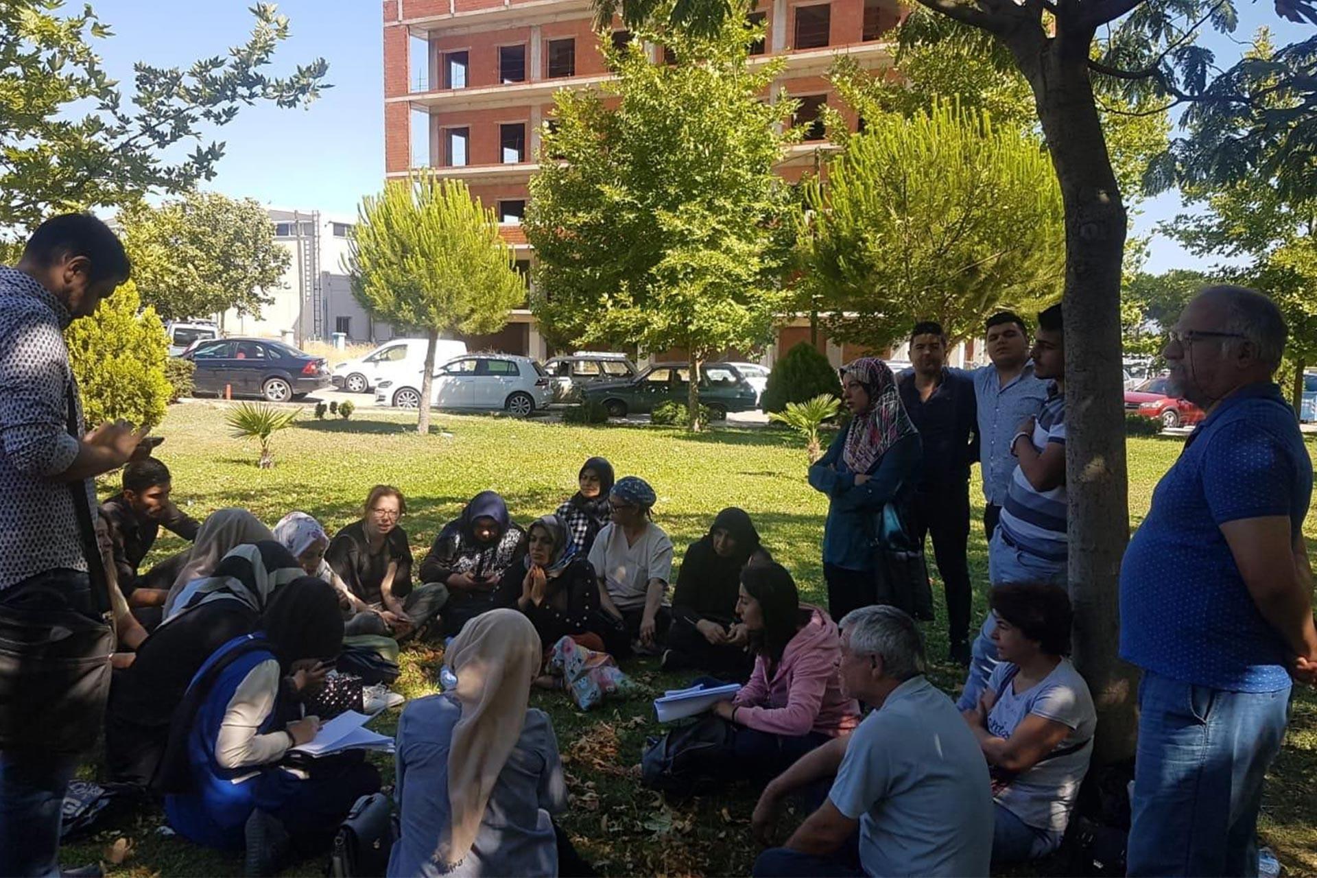 Hafsa Sultan Hastanesinde işten atılan işçiler hukuki süreç başlatacak