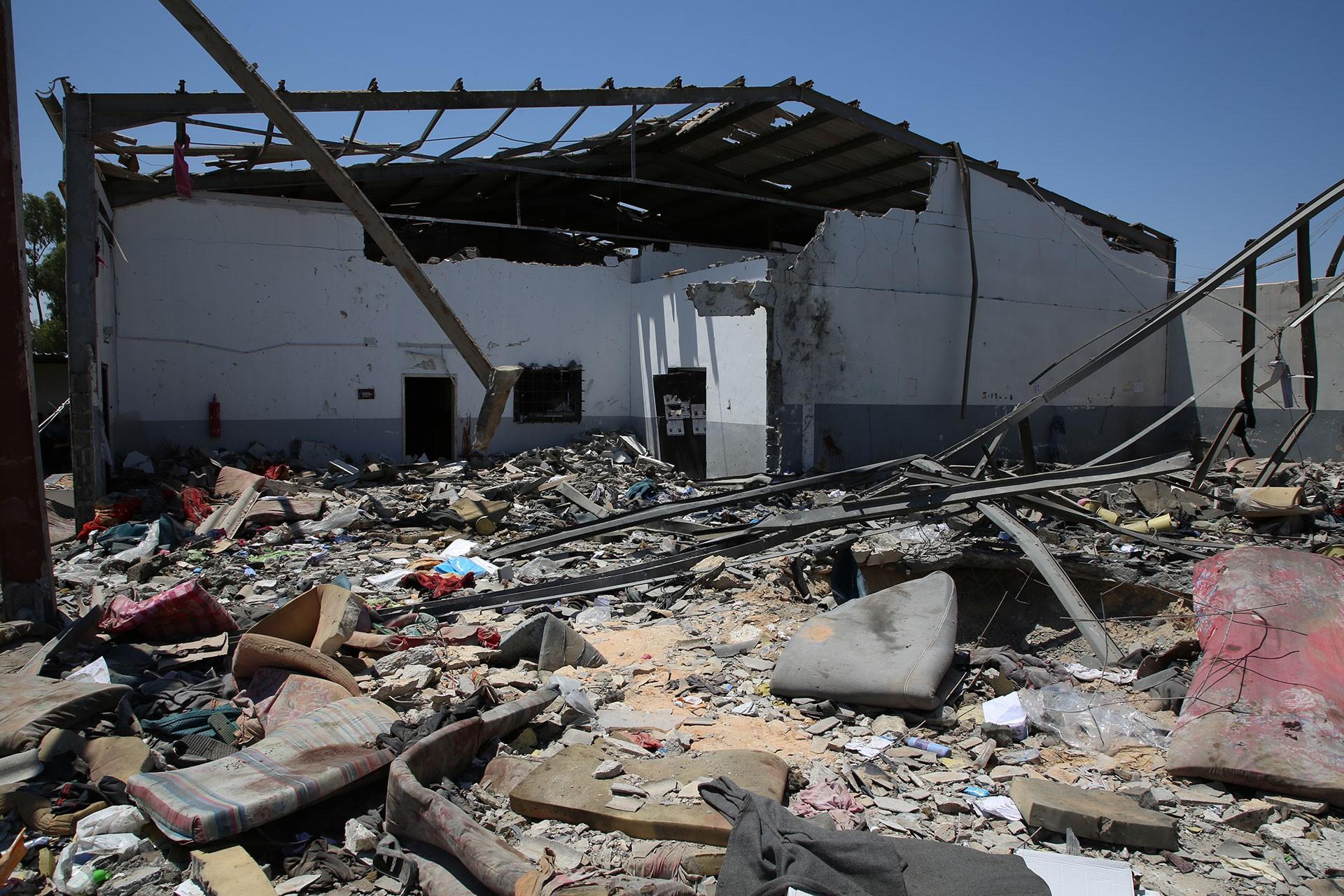 BMGK'de, Libya'da mülteci merkezine saldırıyı kınamaya ABD engeli