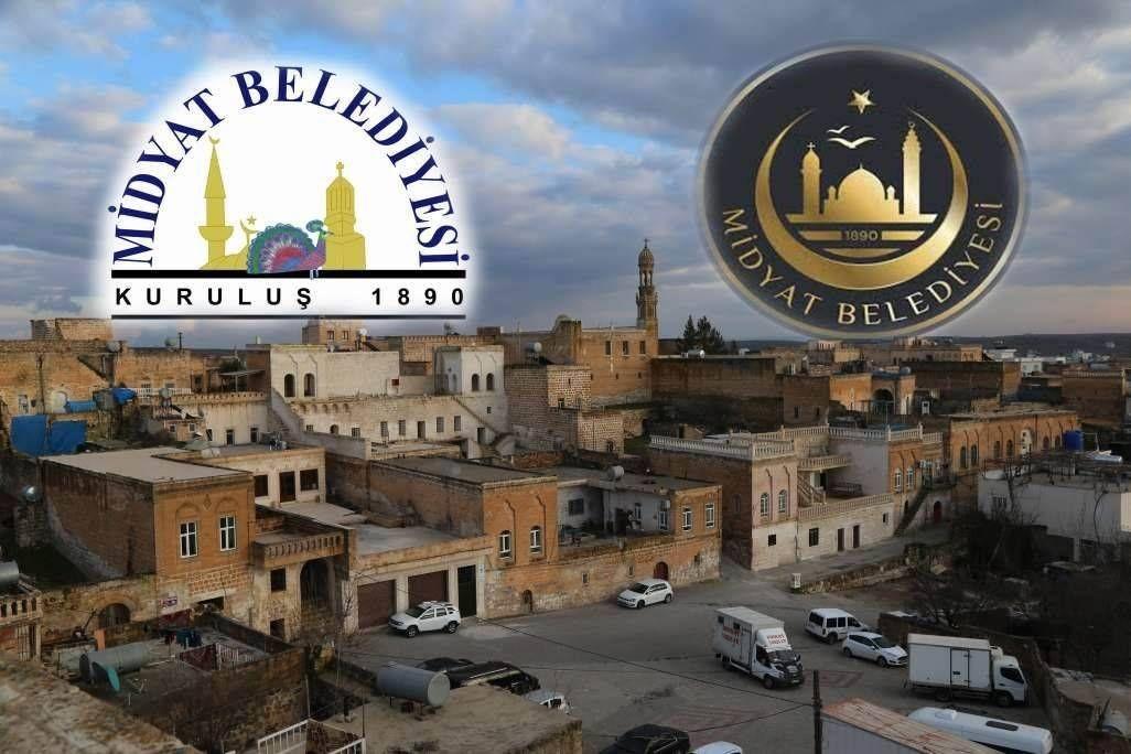 Midyat Belediyesinin logosundan Êzidî sembolü Melek Tavus'un çıkarılmasına tepki