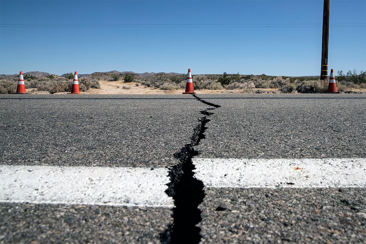 California'da 6,4 büyüklüğünde deprem
