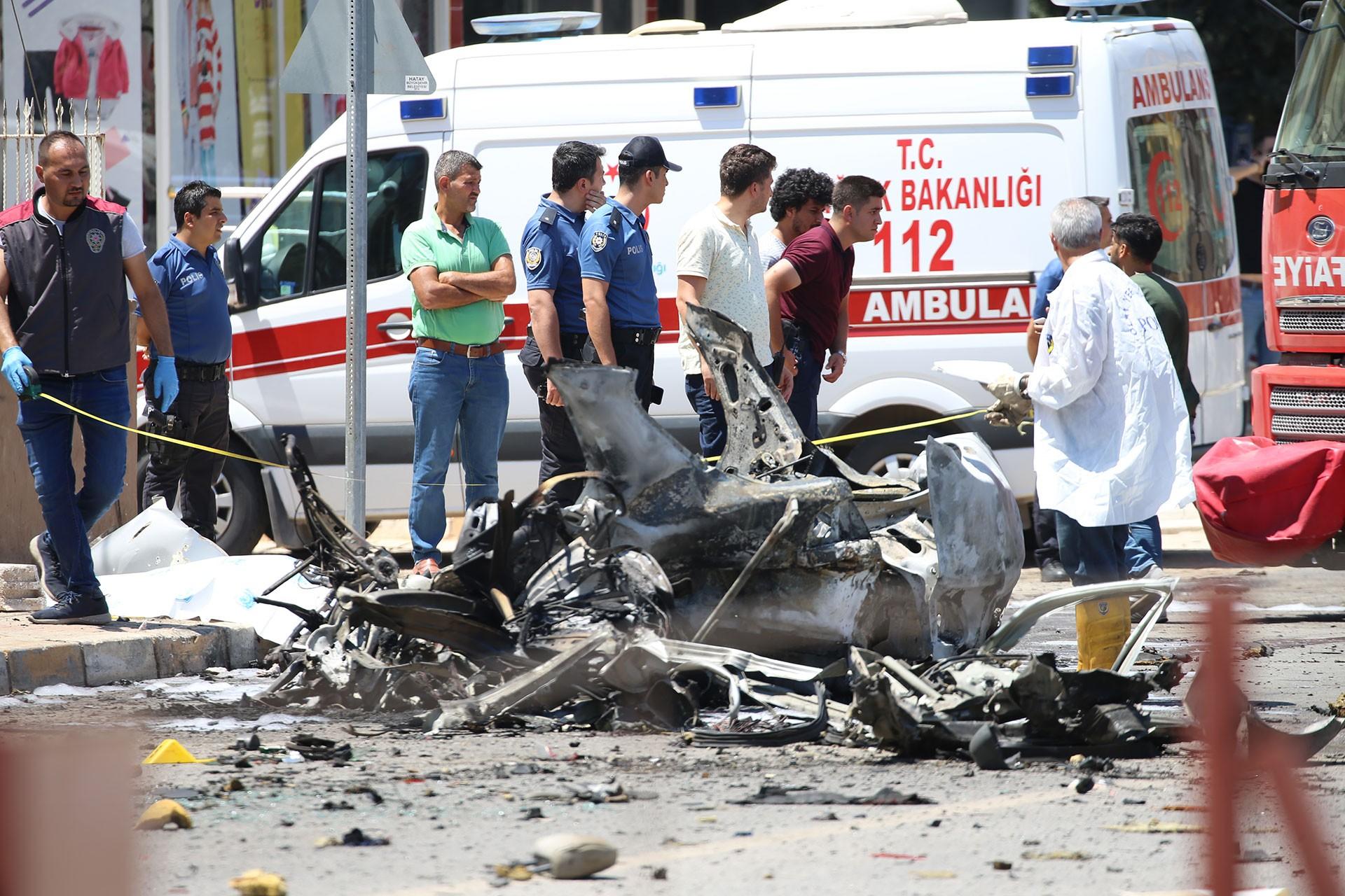 Reyhanlı'da 3 Suriyelinin öldüğü patlamayla ilgili 6 kişi tutuklandı