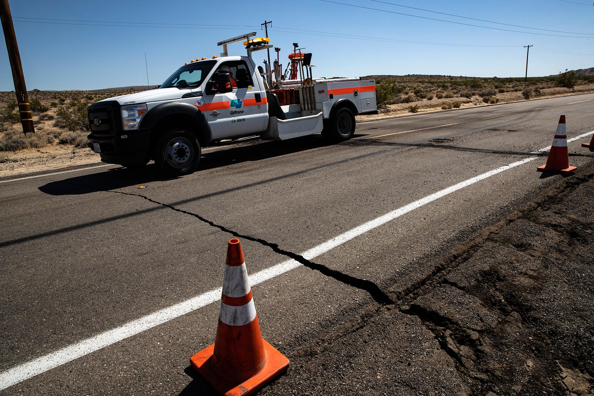 California 3 gün içinde 2. depremle sarsıldı