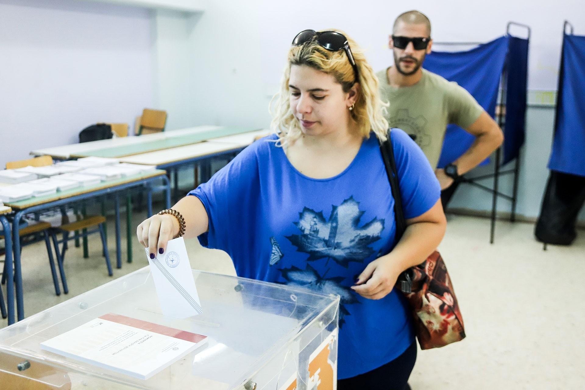 Yunanistan'da erken genel seçimi Yeni Demokrasi (ND) partisi kazandı