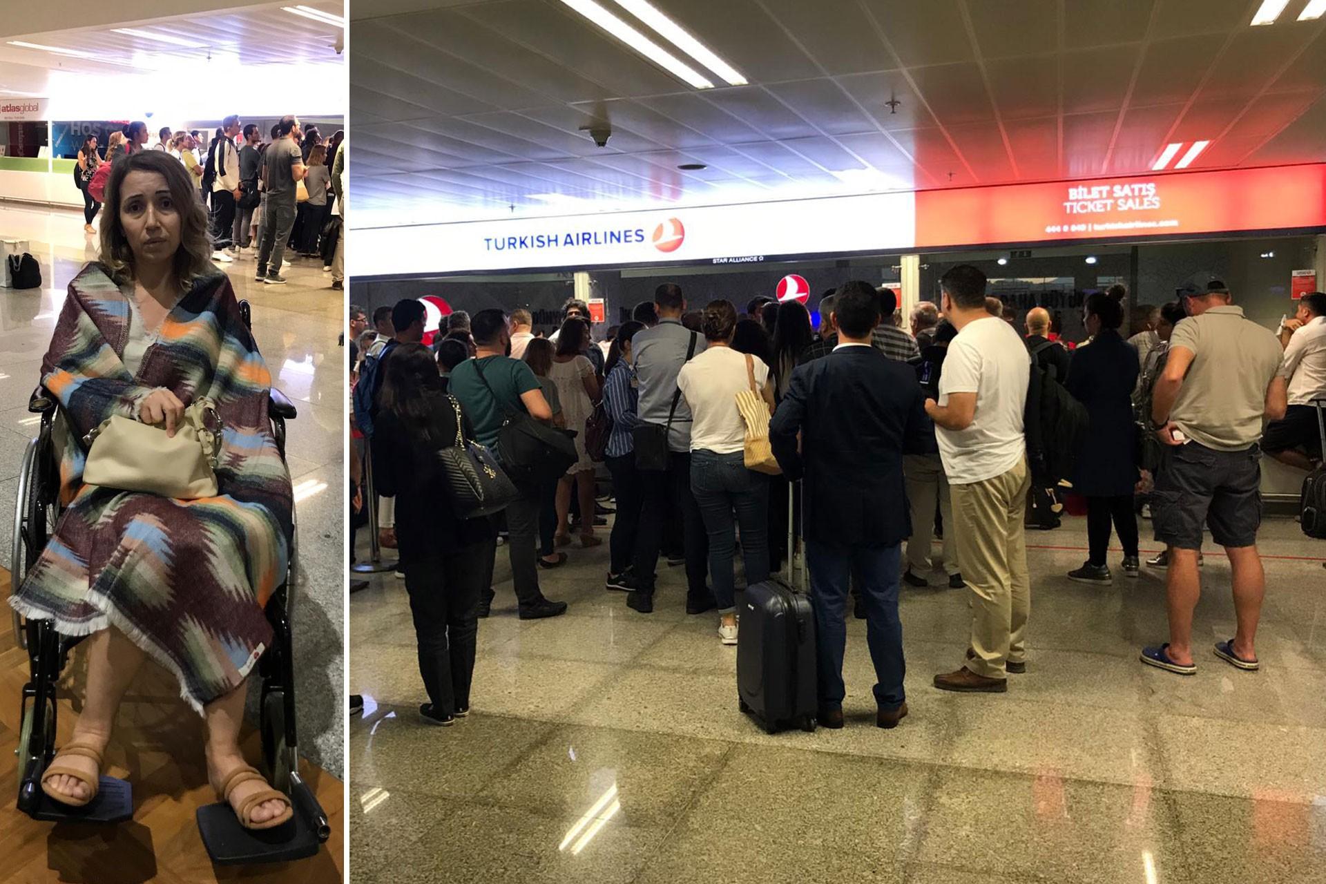 İzmir'den Ankara'ya uçmak isteyen AnadoluJet yolcuları mağdur edildi