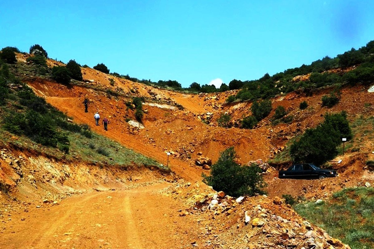 Eskişehir'de bozkırın ortasında maden uğruna 187 bin ağaç katledilecek