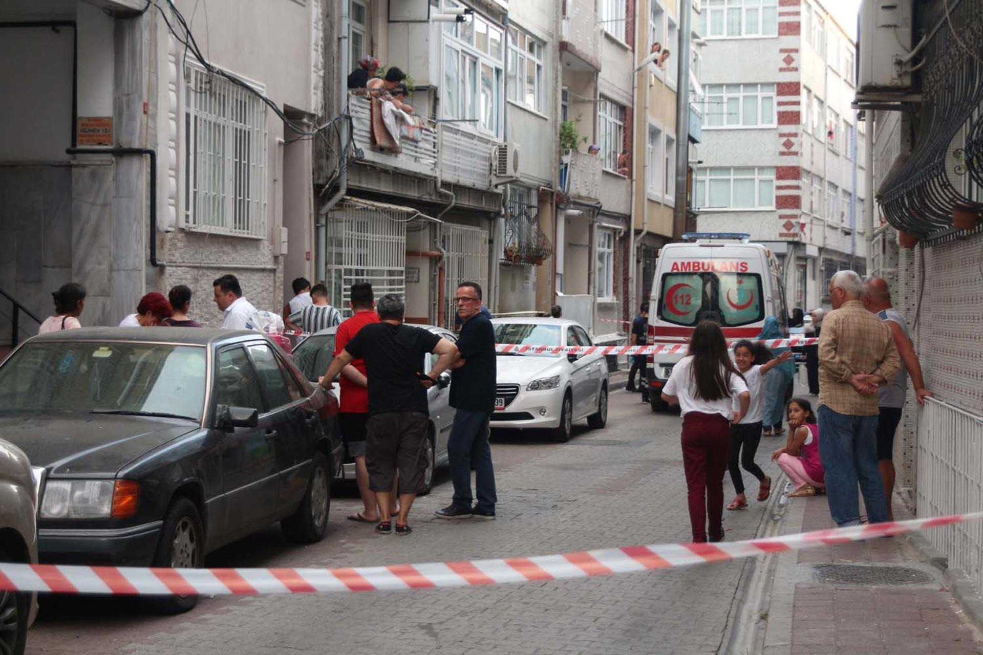 Fatih'te kadın cinayeti