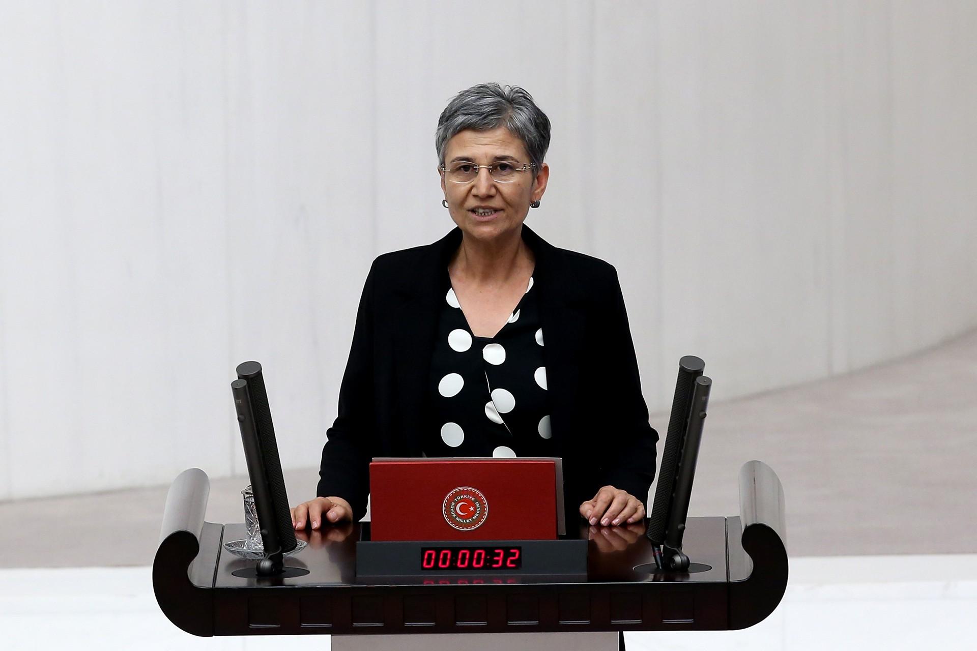 Hakkari Milletvekili Leyla Güven TBMM'de yemin etti