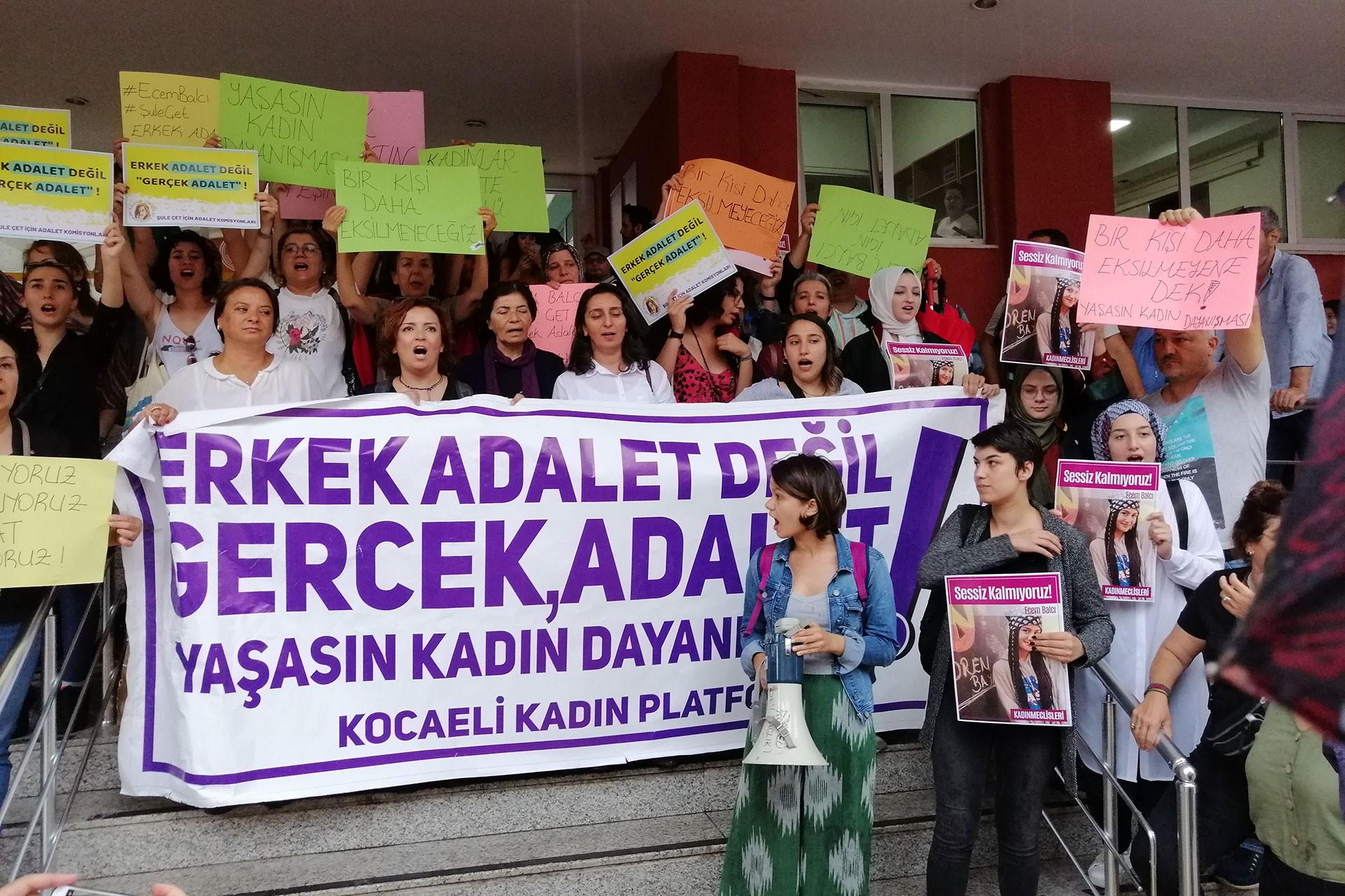 Ecem Balcı davası 3 Ekim'e ertelendi