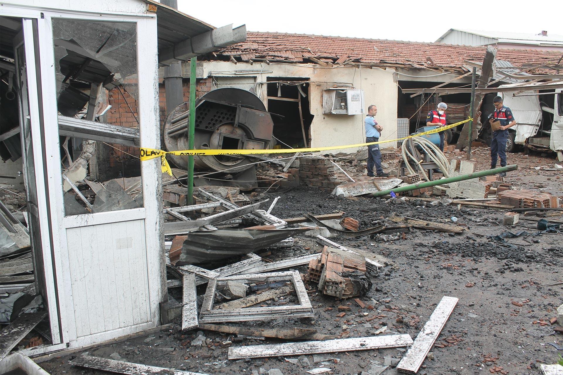 Balıkesir'de peynir üretim tesisinde patlama: 1 işçi yaralı