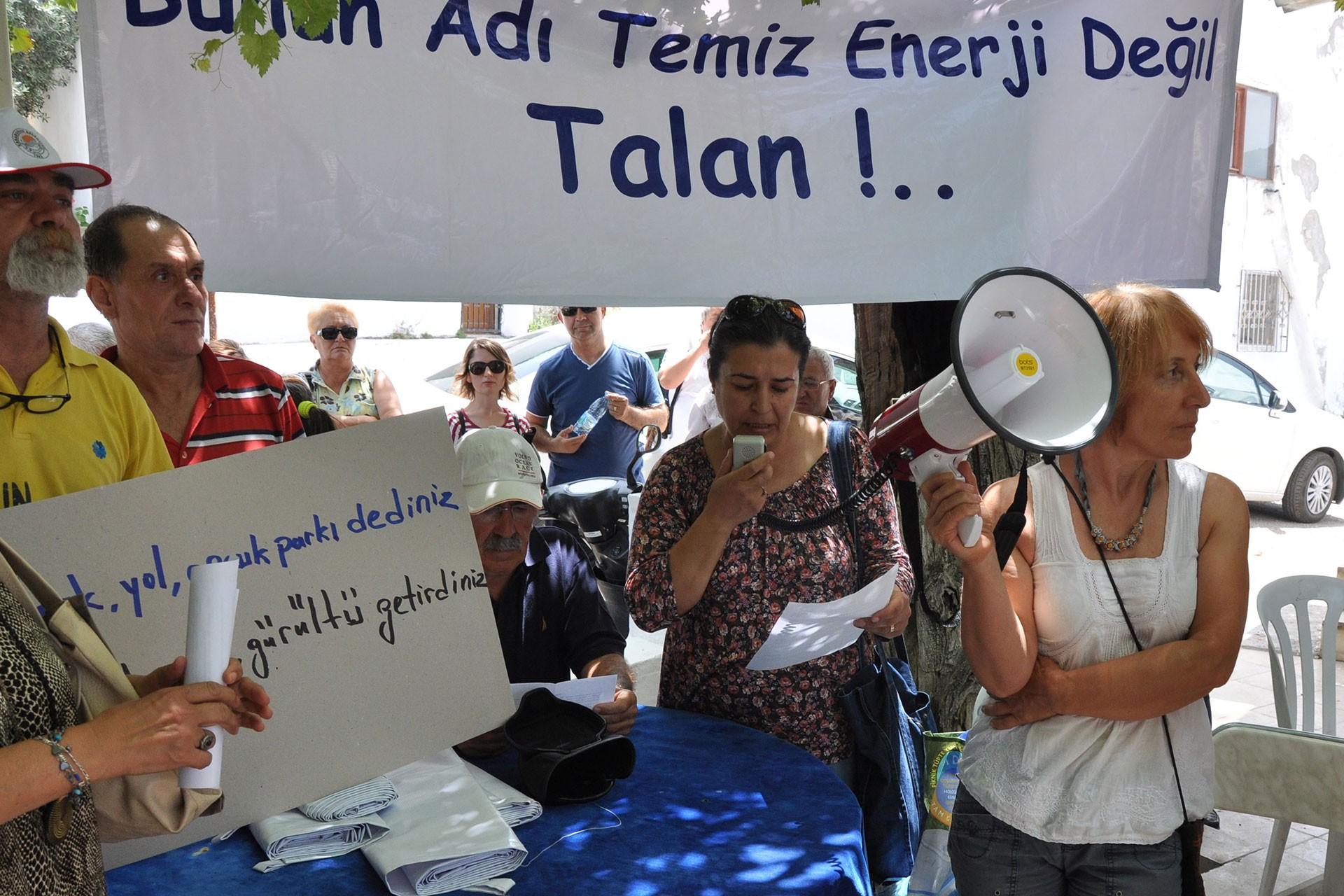 Mordoğan RES kapasite artışı projesine bir iptal kararı da Danıştay'dan