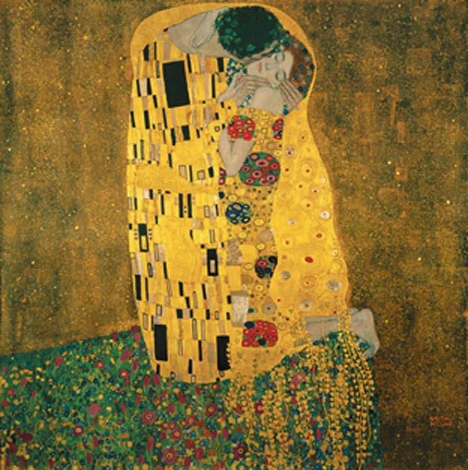 The Kiss - Öpücük | Gustav Klimt