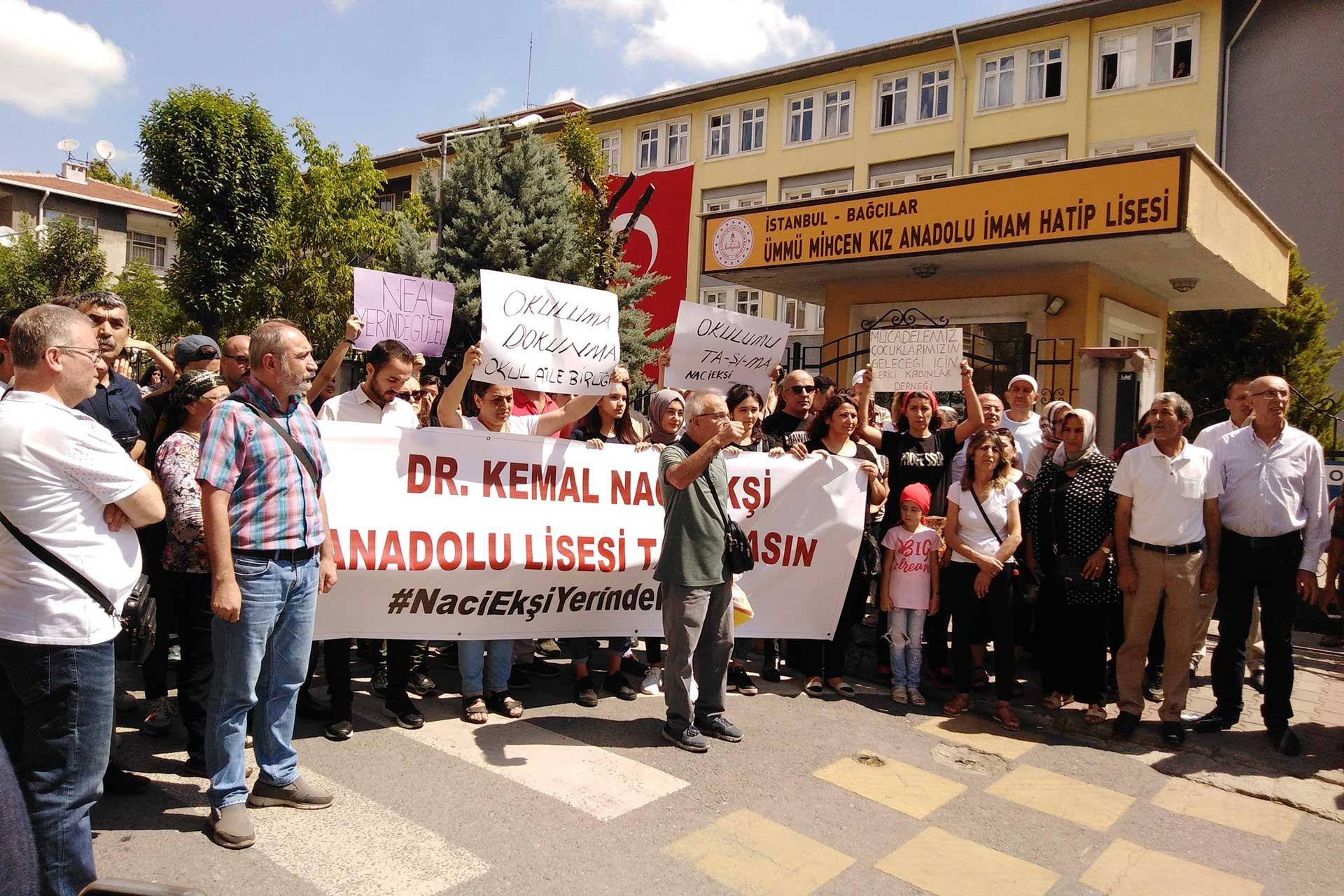 Dr. Naci Ekşi Anadolu Lisesinin imam hatibe dönüştürülmesine tepki