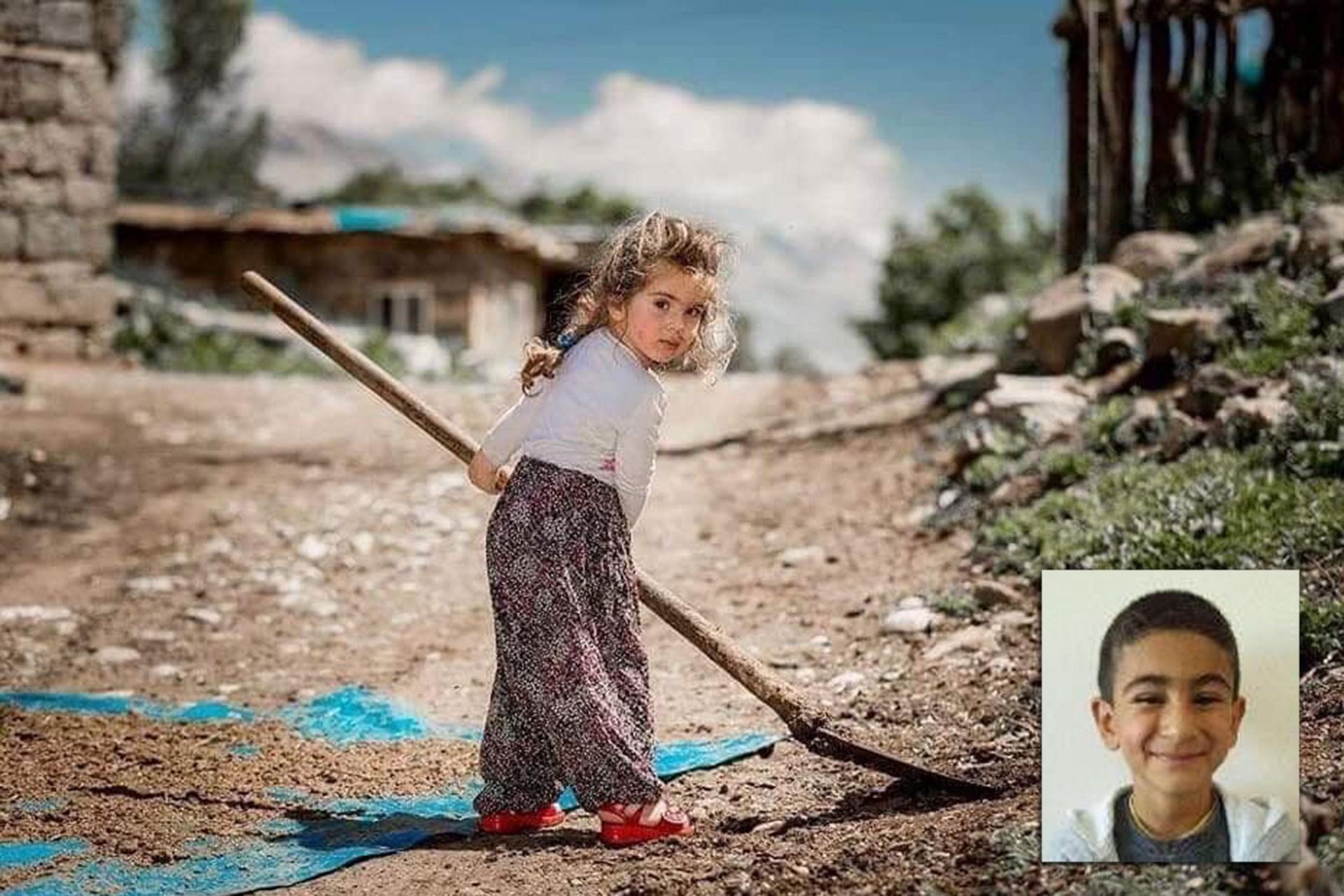 Ovacık'ta patlayıcıya basarak yaşamını yitiren 2 çocuk toprağa verildi