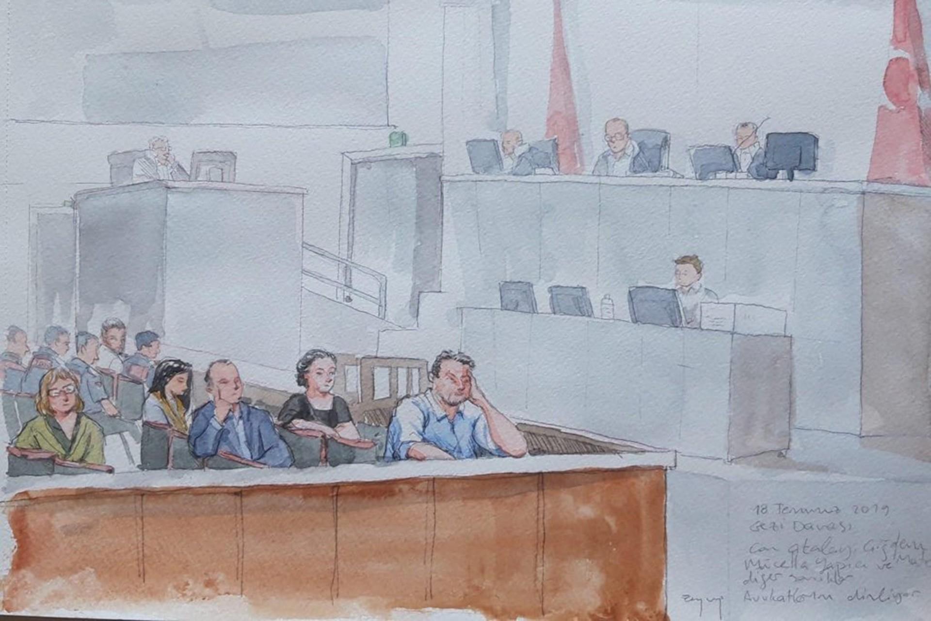 Gezi davasında Osman Kavala'nın tutukluluğunun devamına karar verildi
