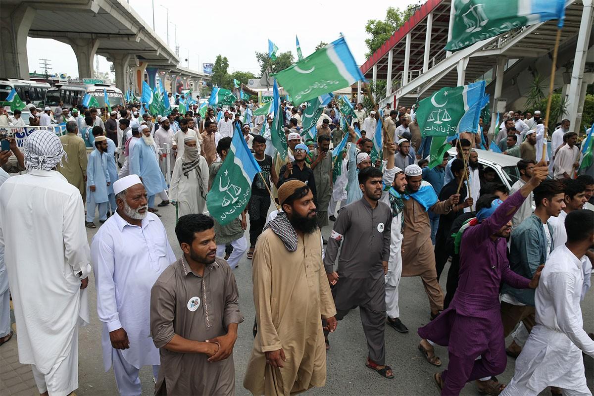 Pakistan'da zamlar ve IMF anlaşması protesto edildi