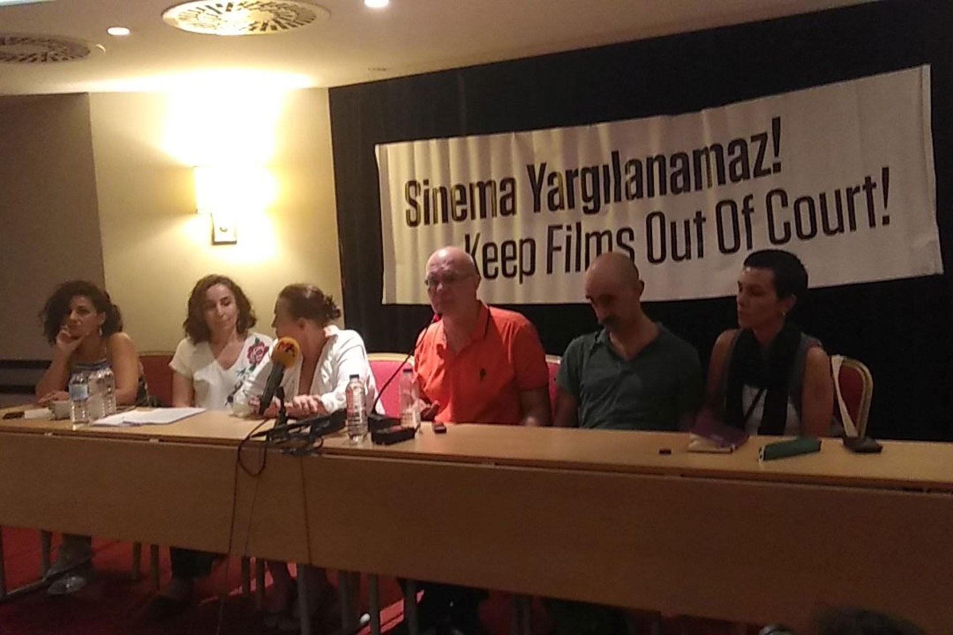 'Bakur Belgeseline ceza sinema tarihine kara lekedir'