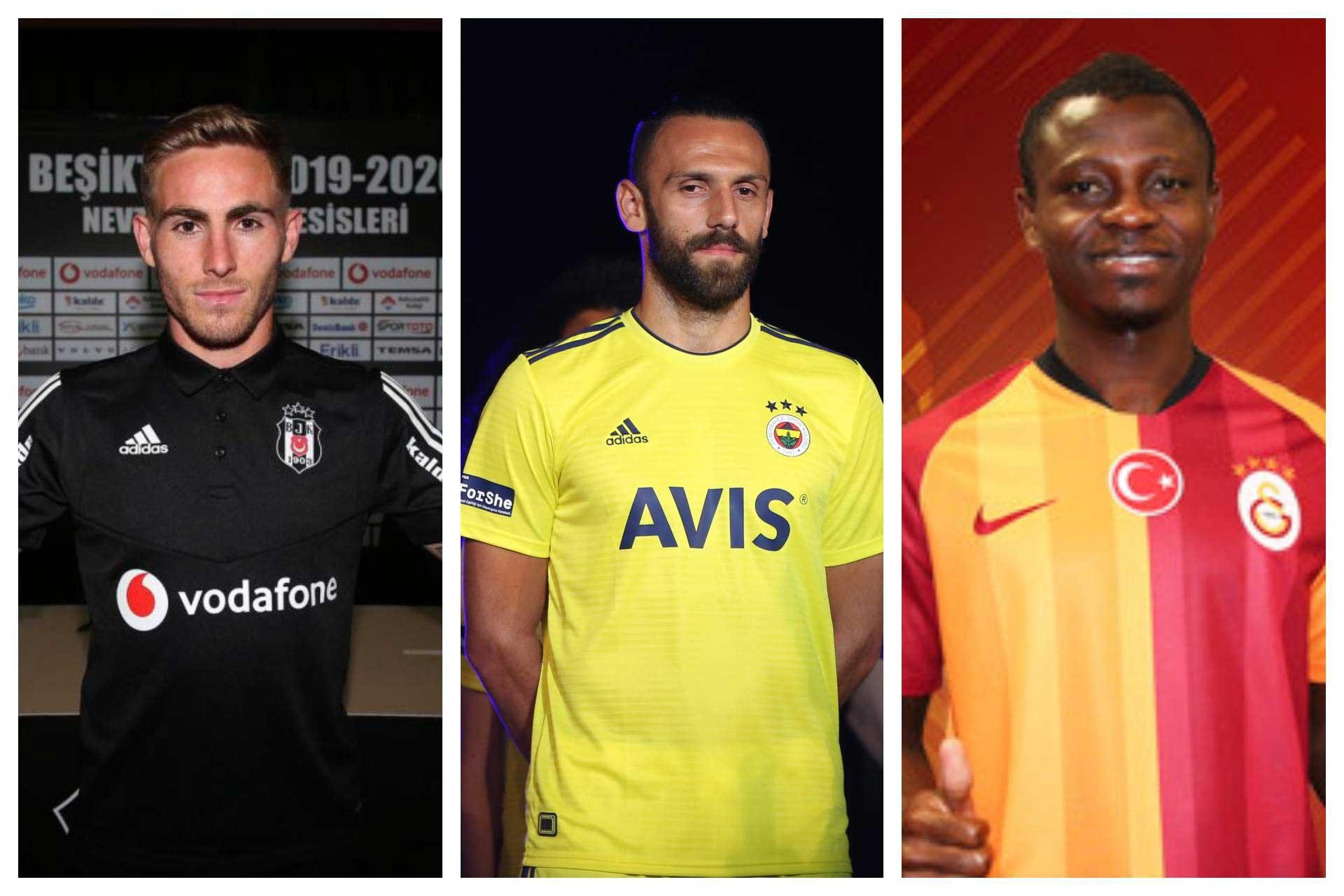 Süper Lig'de yaz transfer dönemi   Tüm kulüplerde gelenler-gidenler