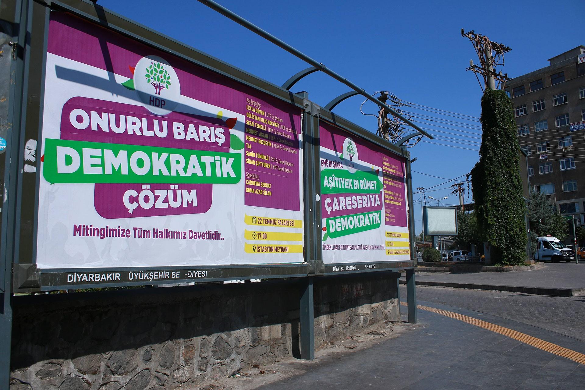 Emek örgütlerinden Diyarbakır'daki mitinge çağrı: Barışa sahip çıkacağız