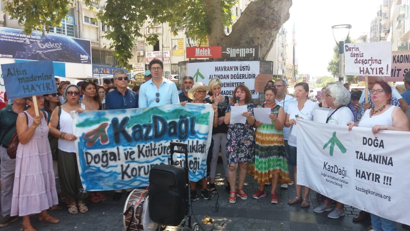 Kaz Dağlarına 'komşu' olan belediye başkanları direnişi değerlendirdi