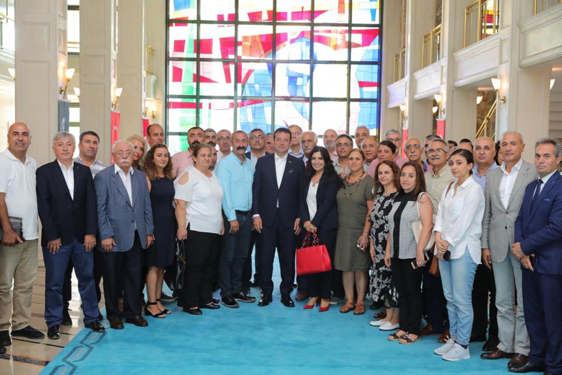 Fatih Mehmet Maçoğlu, Ekrem İmamoğlu'nu ziyaret etti: İşin özü eşitlik duygusu…
