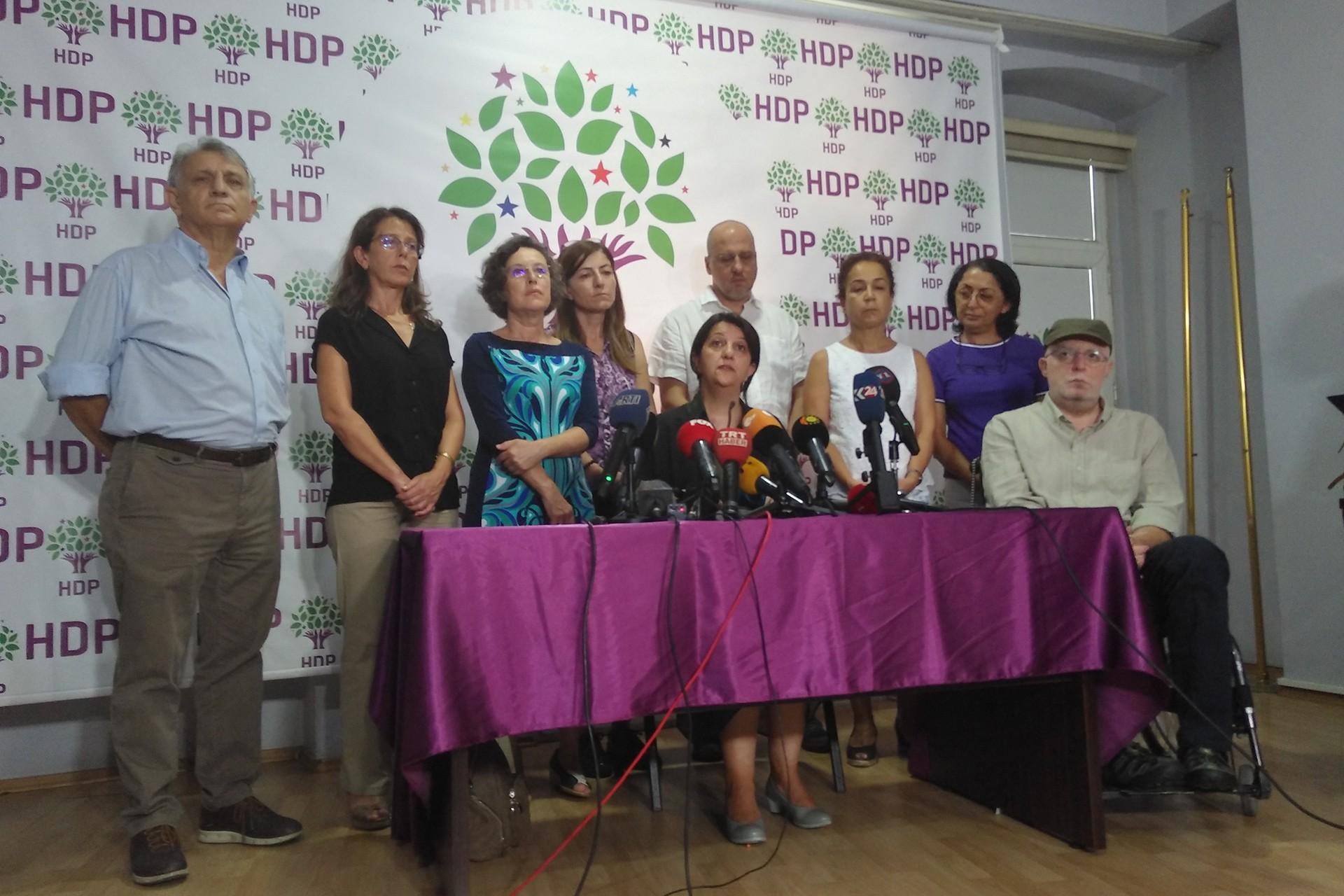 Pervin Buldan: Her yerde barışı dillendirmeye devam edeceğiz