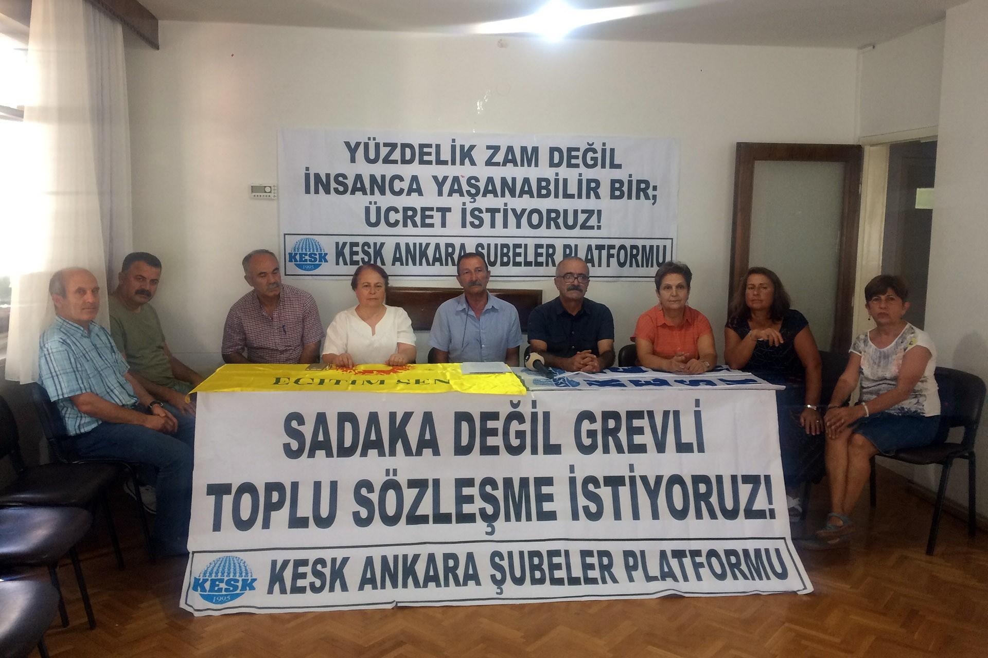 KESK'ten 27 Ağustos grevine çağrı: Bizi yok sayan tekliflere karşı omuz omuza