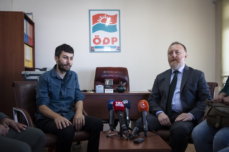 HDP'nin ÖDP ve Halkevleri ziyaretlerinde kayyumlara karşı ortak mücadele vurgusu