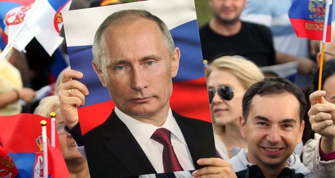 'Putin dünyanın en güçlüsü'