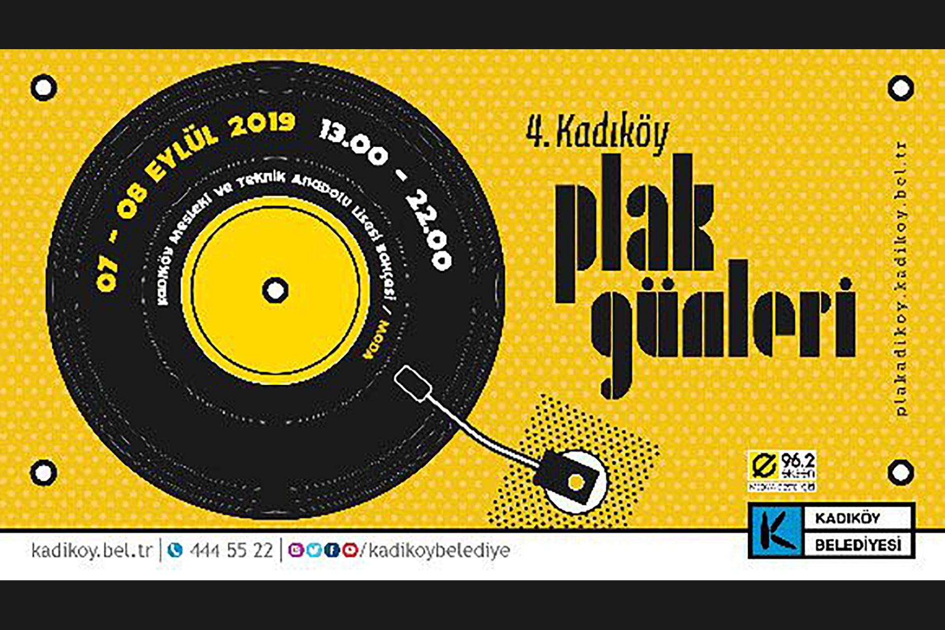Kadıköy Plak Günleri yarın Moda'da başlıyor