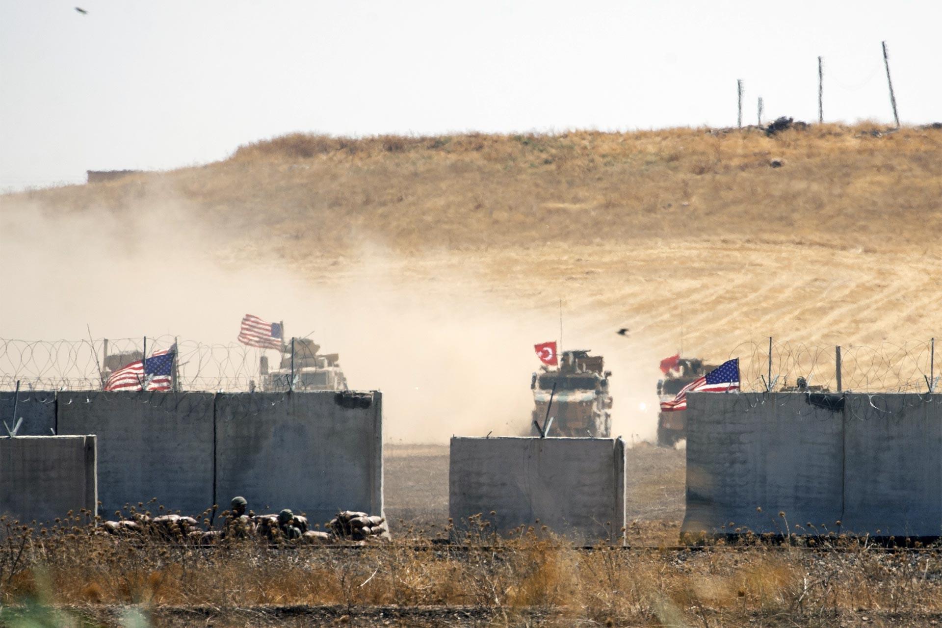 TSK ve ABD, Fırat'ın doğusunda ilk müşterek kara devriyesini tamamladı
