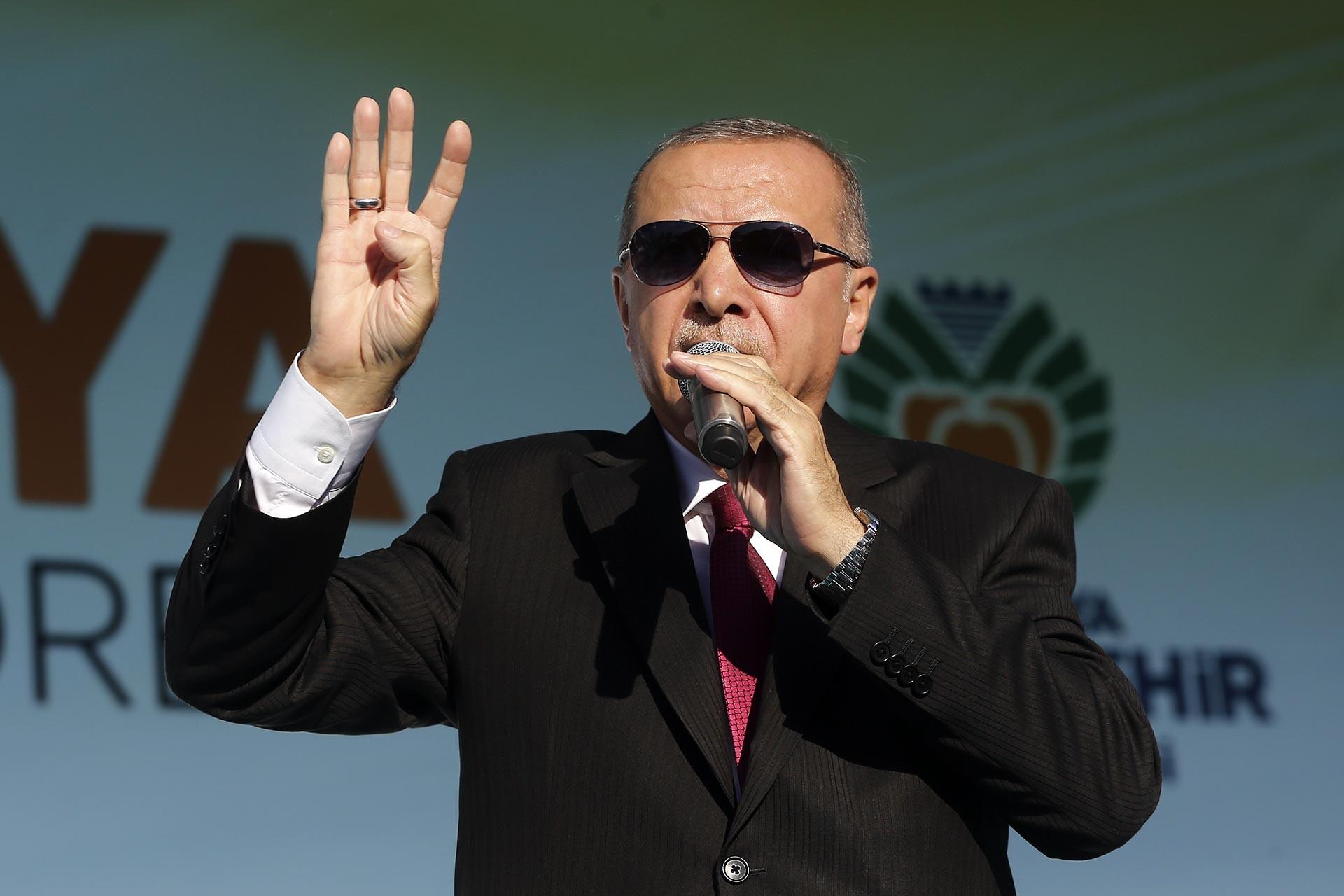 Erdoğan'dan 'güvenli bölge' açıklaması: ABD güvenli bölgeyi terör örgütü için istiyor