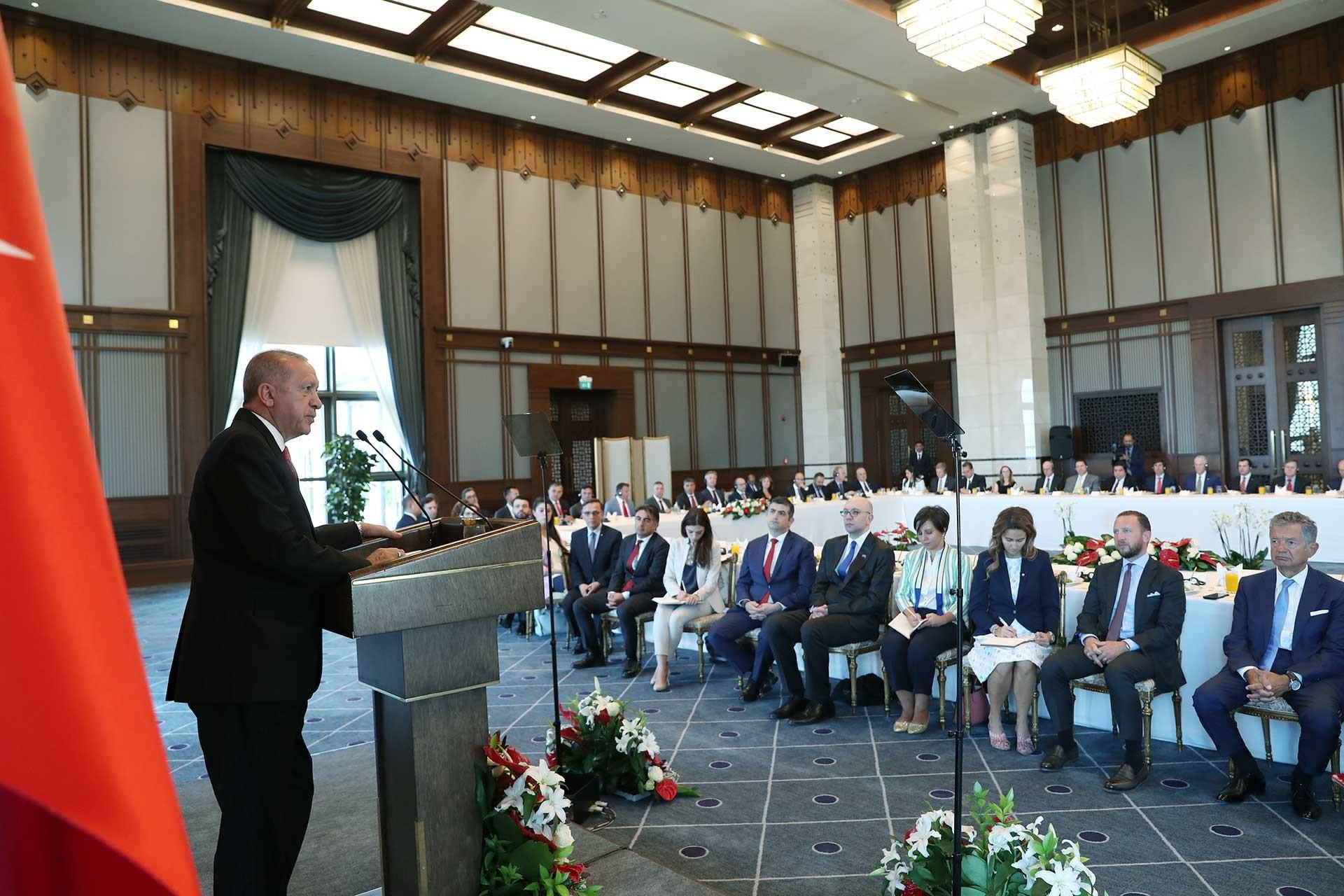 Erdoğan'dan ABD'ye: Beklentimiz, güvenli bölge konusunda yanımızda olması