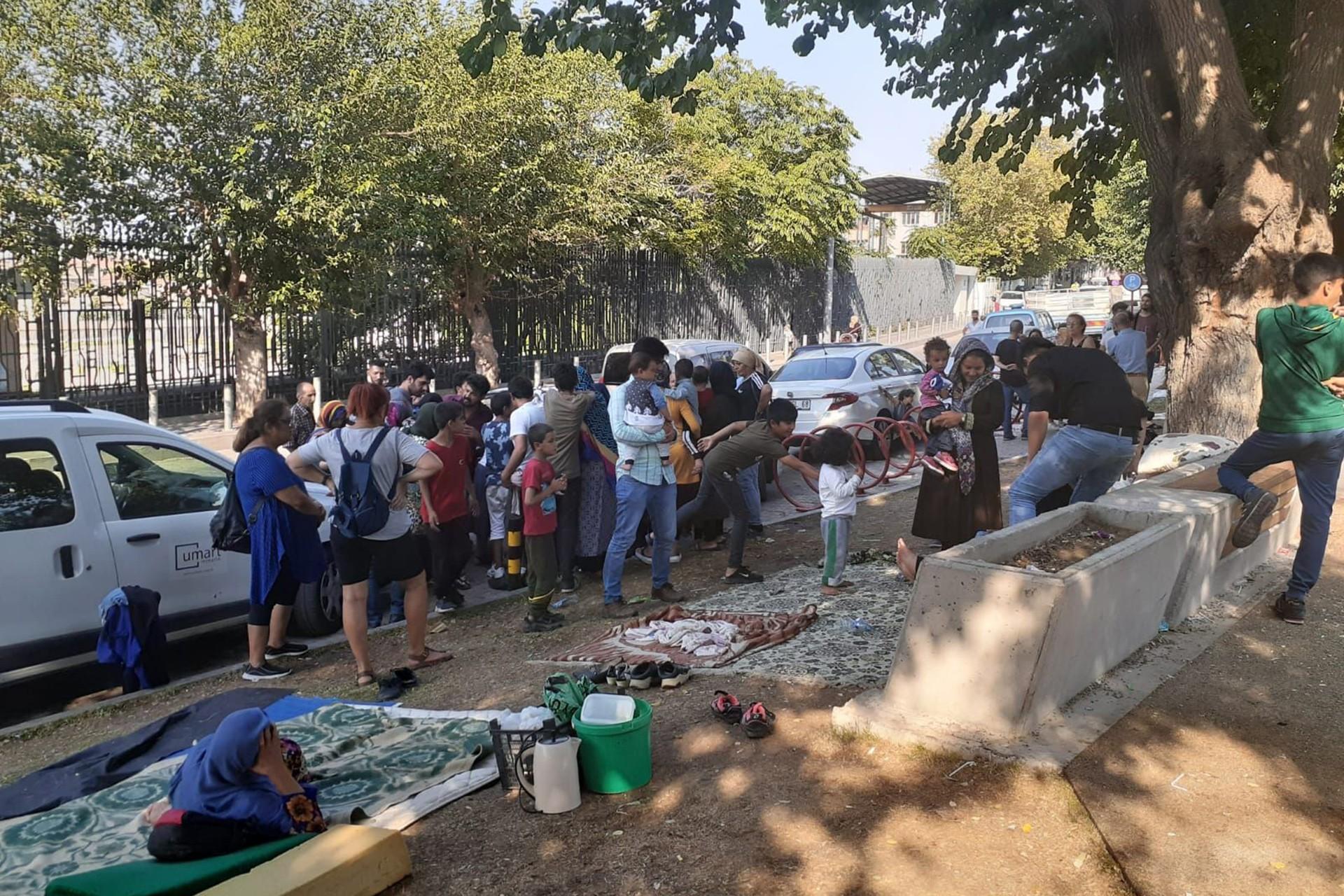 İzmir'deki mültecilerin evi: Agora Parkı