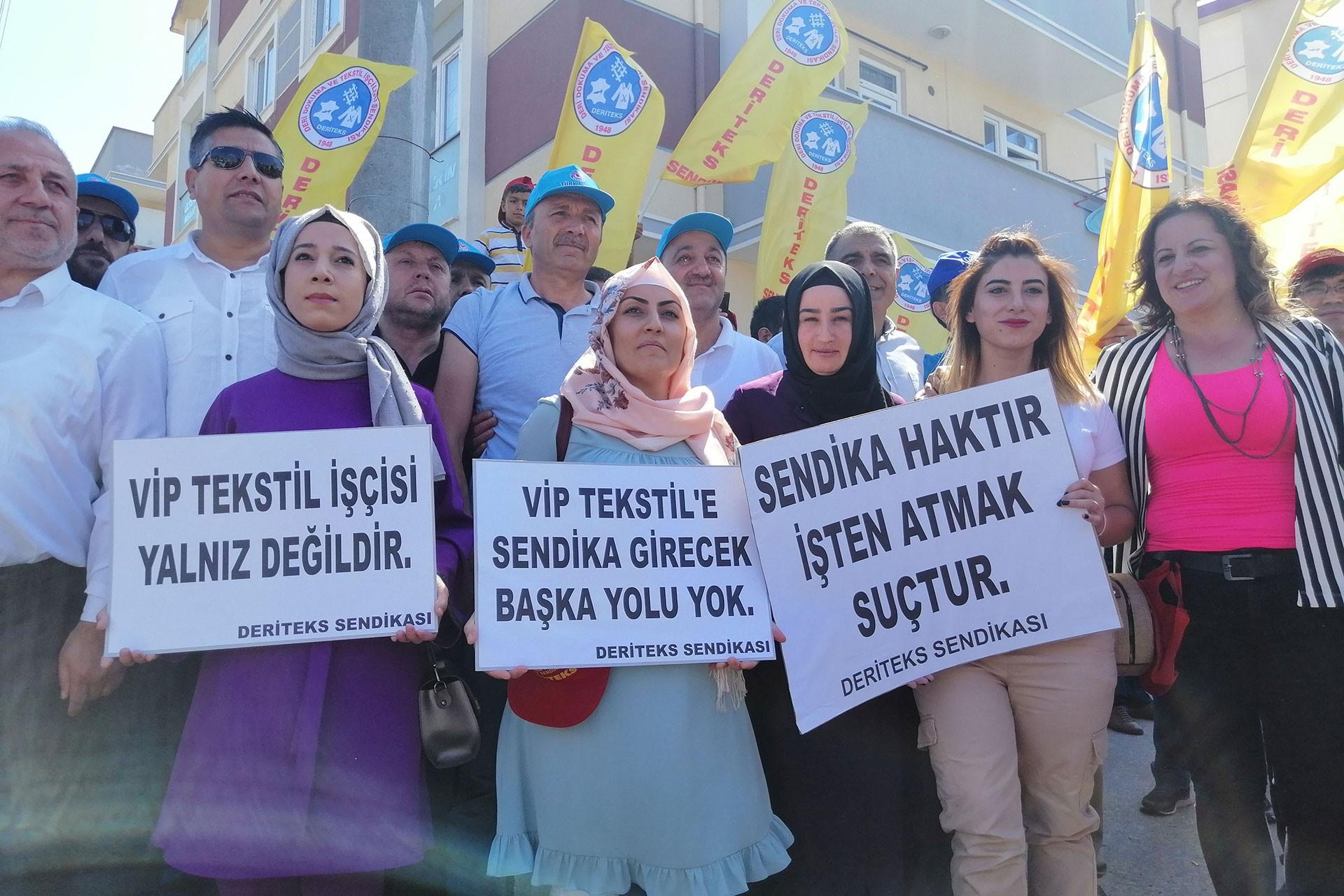 VİP Giyim'de sendikalaşan işçiler işten atıldı