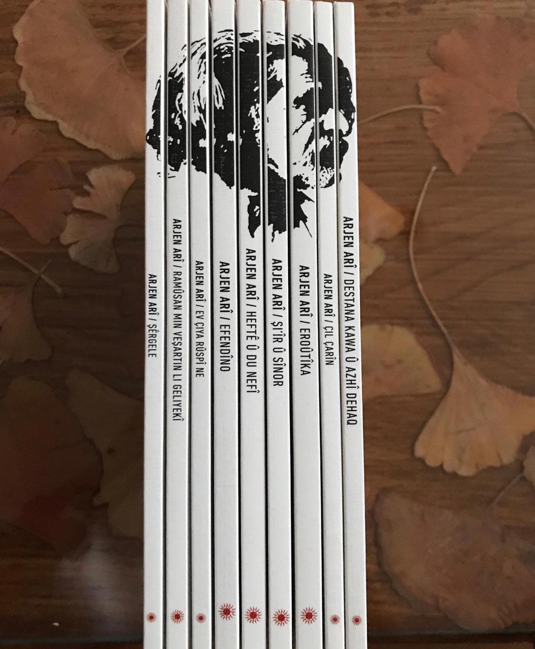 Arjen Arî'nin 9 kitaplık şiir seti Sor Yayınları tarafından basıldı