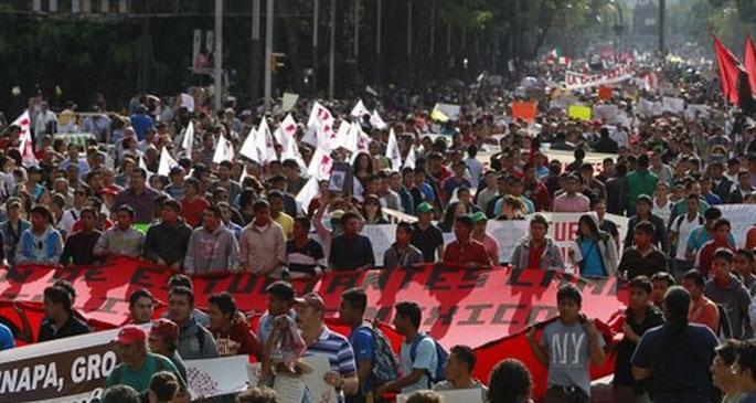 Meksika'da öğrencilerden 72 saatlik boykot