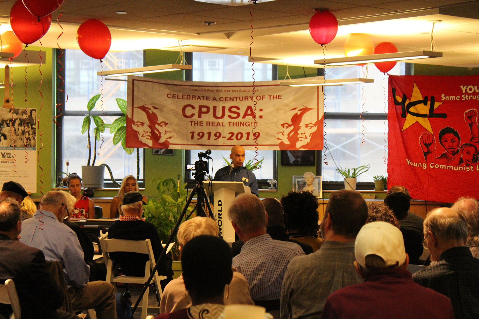 ABD Komünist Partisi, kuruluşunun 100. yıl dönümünü kutladı