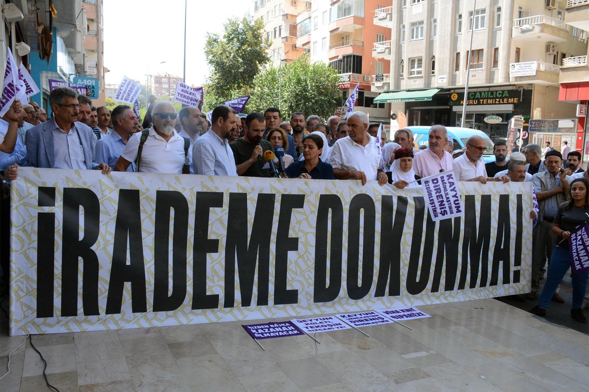 Diyarbakır'da kayyuma tepki 29. gününde