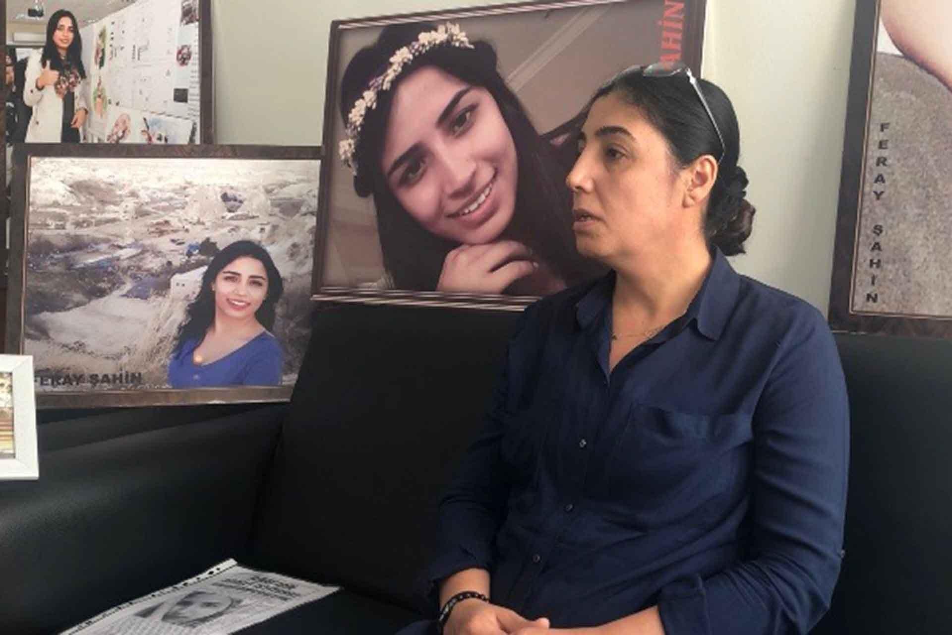 Feray Şahin'in annesi Aysel Şahin