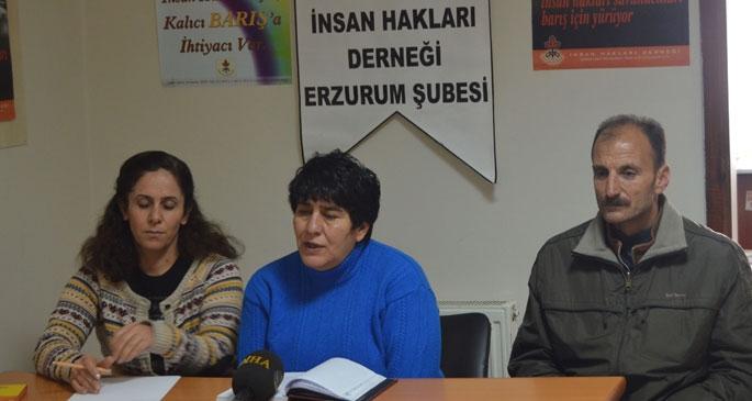 Erzurum cezaevinde hak ihlalleri had safhada