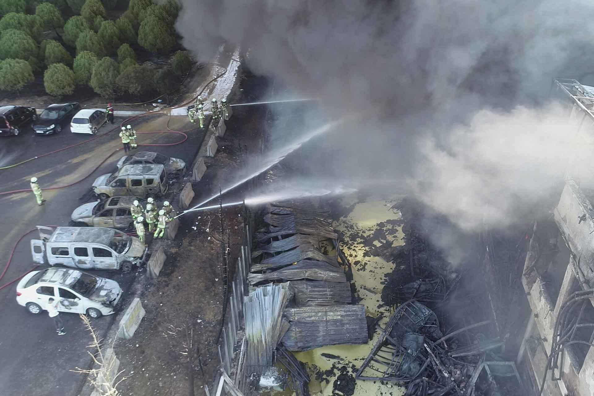 'Tuzla'daki fabrika yangını sonucu yağışların olağan dışı bir etkisi olmayacak'