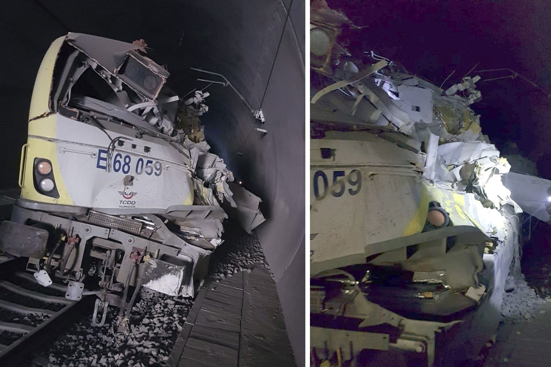 Bilecik'te kılavuz tren tünelde raydan çıktı, 2 makinist yaşamını yitirdi