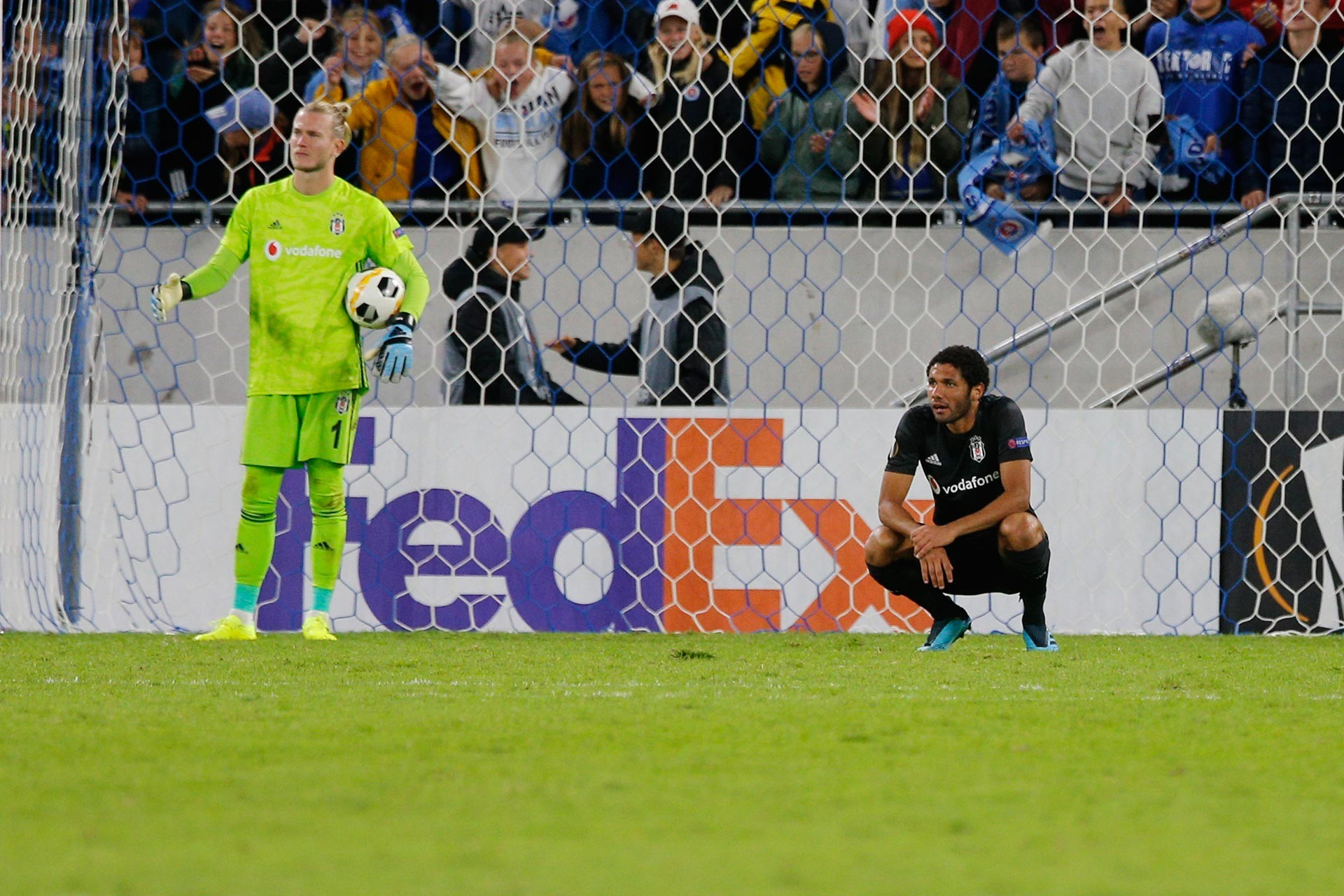 Beşiktaş, UEFA Avrupa Ligi ilk grup maçında Slovan Bratislava'ya 4-2 mağlup oldu