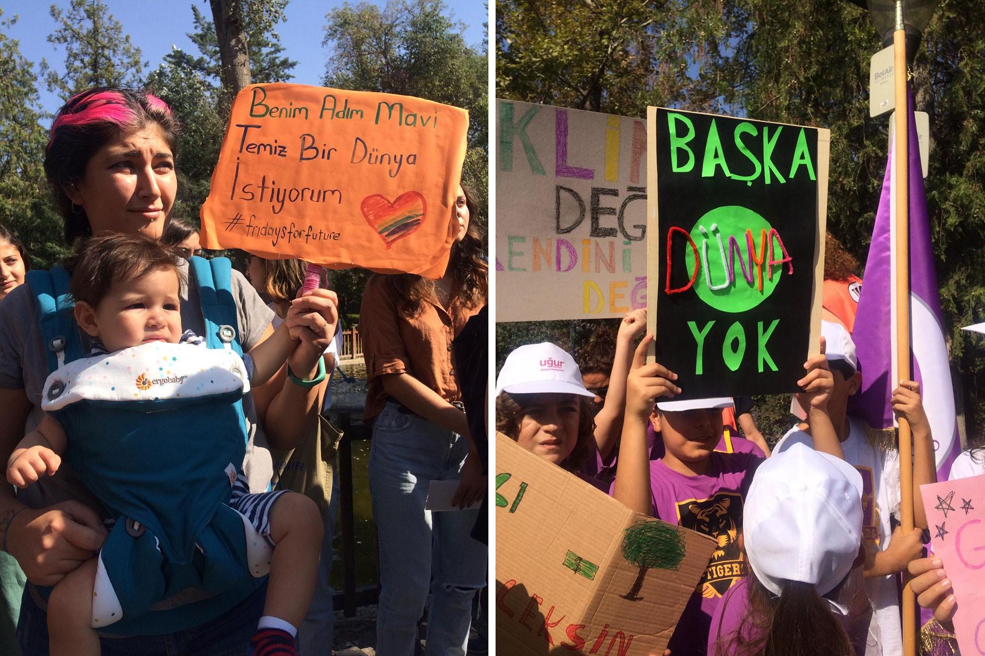 Ankara'daki iklim eylemi