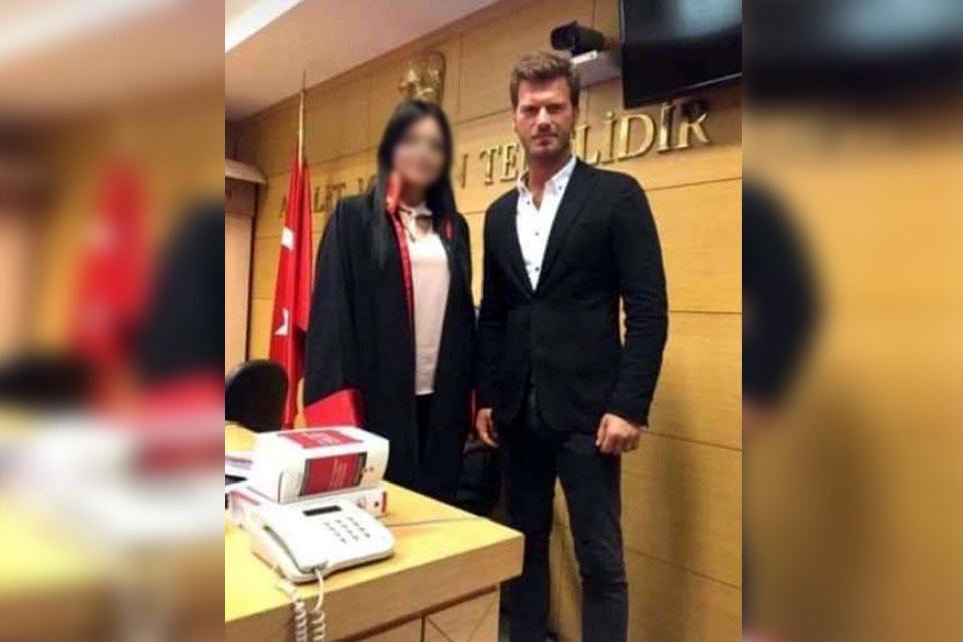 Hakim ile Oyuncu Kıvanç Tatlıtuğ'un duruşma salonundaki fotoğrafına HSK'dan inceleme