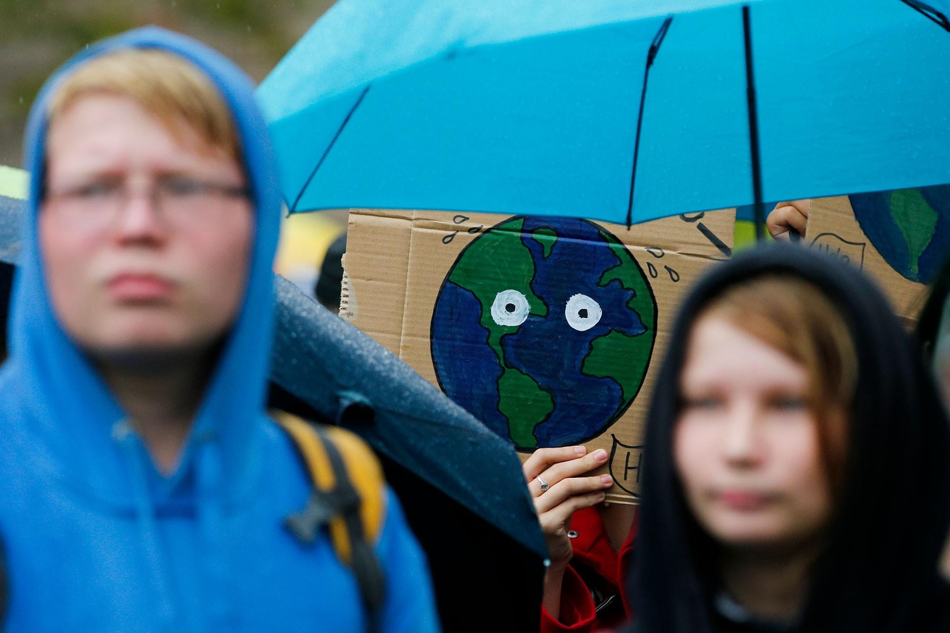 Almanya'da yapılan iklim eylemi