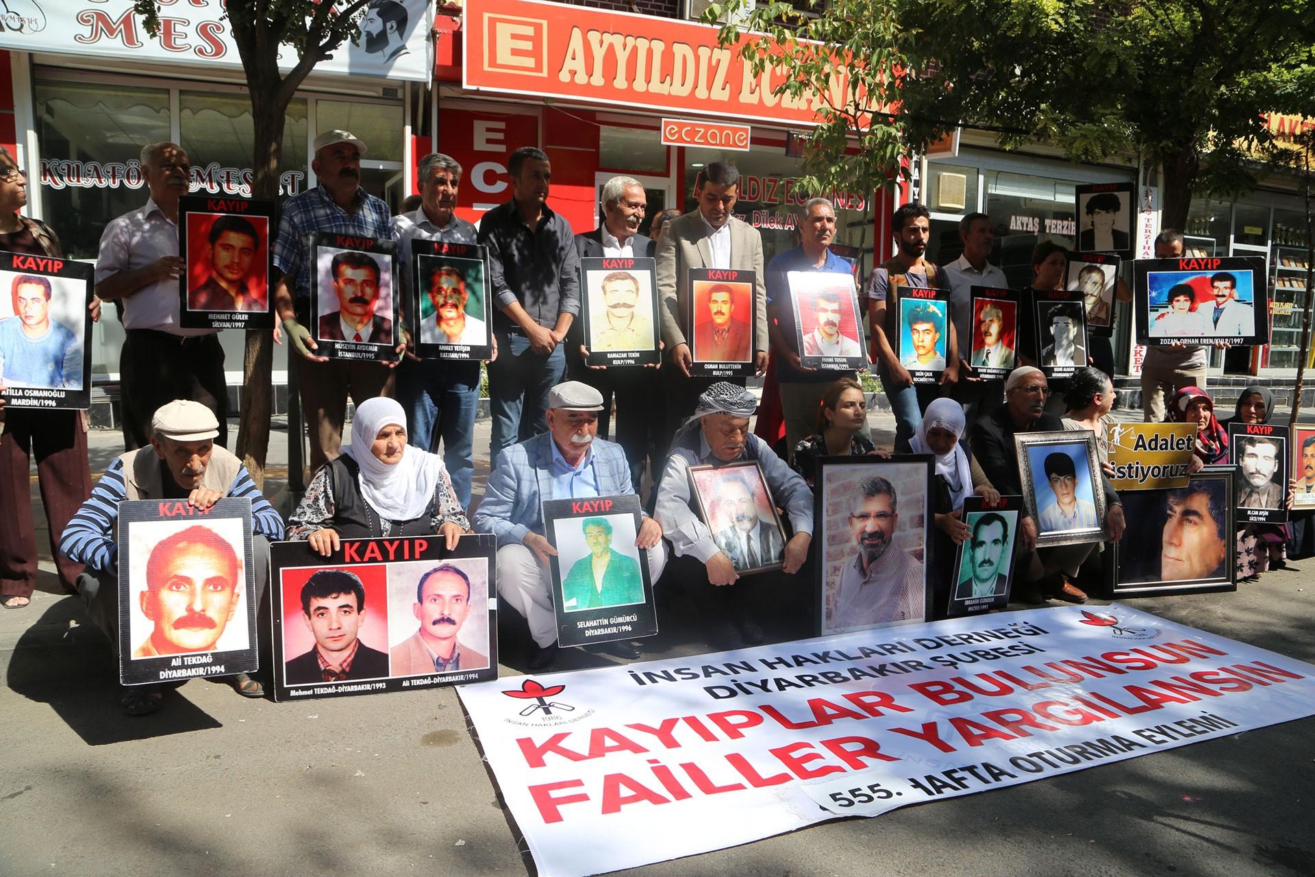 İHD Diyarbakır ve kayıp yakınları Ceylan Önkol'un akıbetini sordu